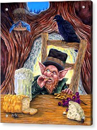 Leprechaun's Lair Acrylic Print by Heather Calderon