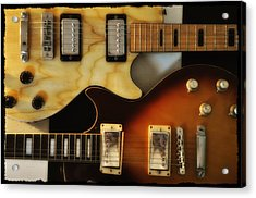 Les Paul - Come Together Acrylic Print by Bill Cannon