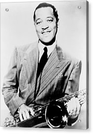 Lester Young 1909-1959, African Acrylic Print by Everett