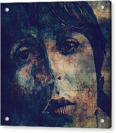 Let It Roll / 2 Acrylic Print by Paul Lovering