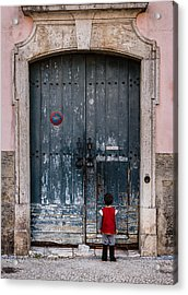 Let Me In Acrylic Print by Marco Oliveira