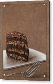 Let Us Eat Cake Acrylic Print by James W Johnson