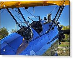 Lets Fly Acrylic Print by Fred Lassmann