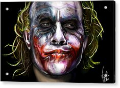 Let's Put A Smile On That Face Acrylic Print by Vinny John Usuriello