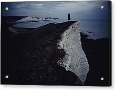 Lewis Carroll Liked To Walk Along These Acrylic Print by Sam Abell