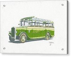 Leyland Tigress Acrylic Print by John Kinsley