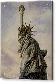 Liberte Acrylic Print by Vladimir Rumianzev