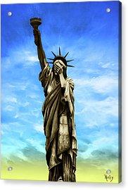 Wip My Lady Acrylic Print by Kd Neeley