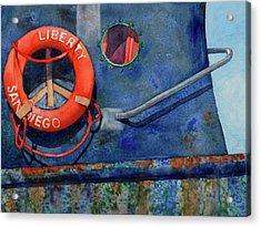 Liberty Acrylic Print by Codie Carman