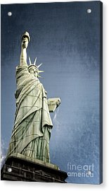 Liberty Enlightening The World Acrylic Print by Charles Dobbs