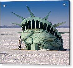 Liberty Acrylic Print by Linda Mishler