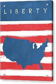 Liberty Acrylic Print by Linda Woods