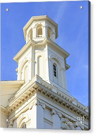 Library Provincetown Cape Cod Acrylic Print by Edward Fielding
