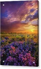 Life Is Measured In Moments Acrylic Print by Phil Koch