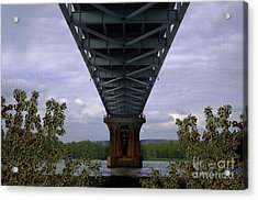 Life Under A Bridge Acrylic Print by The Stone Age
