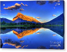 Life's Reflections Acrylic Print by Scott Mahon