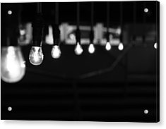 Light Bulbs Acrylic Print by Carl Suurmond
