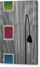 Light Diffraction Acrylic Print by Bastian Kienitz