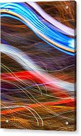 Light Flow Acrylic Print by Az Jackson
