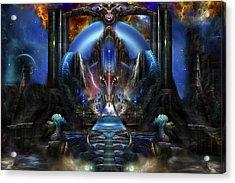 Light Of Ancient Wisdom Acrylic Print by Xzendor7