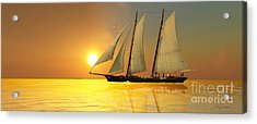 Light Of Life Acrylic Print by Corey Ford