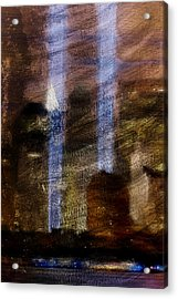 Light Towers Acrylic Print by Andrea Barbieri