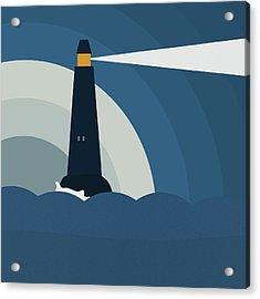 Lighthouse Acrylic Print by Frank Tschakert