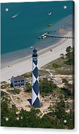 Lighthouse From Above Acrylic Print by Betsy C Knapp