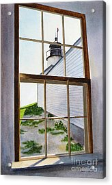 Lighthouse View Acrylic Print by Karol Wyckoff