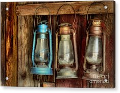 Lights Of Bodie Acrylic Print by Benanne Stiens