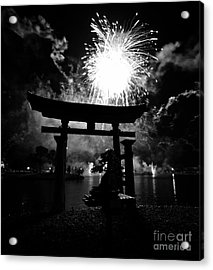 Lights Over Japan Acrylic Print by David Lee Thompson