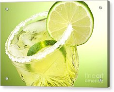 Lime Cocktail Drink Acrylic Print by Blink Images