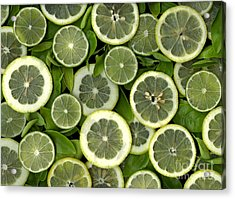 Limons Acrylic Print by Christian Slanec