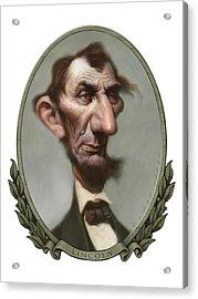 Lincoln Acrylic Print by Court Jones