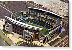 Lincoln Financial Field Philadelphia Eagles Acrylic Print by Duncan Pearson