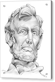 Lincoln Acrylic Print by Greg Joens