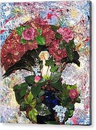Linda Adams 2010 Time To Go  Acrylic Print by HollyWood Creation By linda zanini