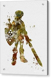 Link 2nd Edition Acrylic Print by Rebecca Jenkins