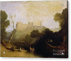 Linlithgow Palace Acrylic Print by Joseph Mallord William Turner