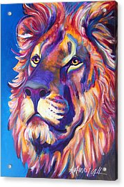 Lion - Cecil Acrylic Print by Alicia VanNoy Call