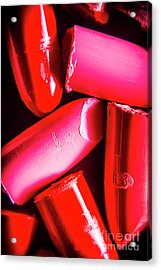 Lipgloss And Letdown Acrylic Print by Jorgo Photography - Wall Art Gallery
