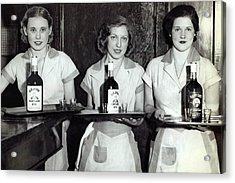 Liquor Is Served - Prohibition Ends 1933 Acrylic Print by Daniel Hagerman