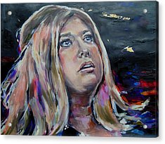 Lisa Martin - Its Adele Acrylic Print by Lucia Hoogervorst
