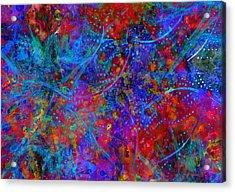 Listen Acrylic Print by Moon Stumpp