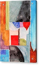 Little Abstract Acrylic Print by Jamie Frier