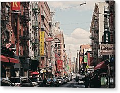 Little Italy Acrylic Print by Benjamin Matthijs
