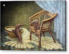 Little Love Story Acrylic Print by Lolita Bronzini
