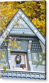 Little Pink Window Acrylic Print by Jan Amiss Photography
