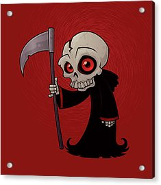 Little Reaper Acrylic Print by John Schwegel