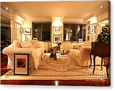 Living Room IIi Acrylic Print by Madeline Ellis